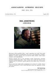 neil armstrong - Commissione Divulgazione - Unione Astrofili Italiani