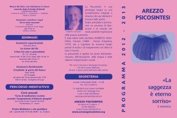 brochure pdf - Psicosintesi