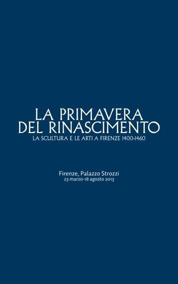 Scarica tutti i testi della mostra! - Palazzo Strozzi
