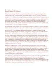 La relazione di coppia art 2 - dott.ssa Stefania Samek Lodovici