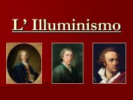Illuminismo - Liceo scientifico Mericianum