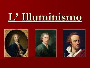 Illuminismo - Liceo scientifico Mericianum
