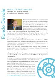 Intervista a Rando Devole - Volontariato Lazio