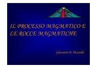 IL PROCESSO MAGMATICO E LE ROCCE ... - UpperMantle.com