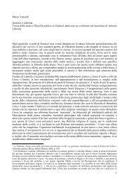 In apertura di un suo saggio su Labriola e Gramsci Nicola ... - Unicamp