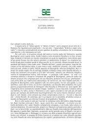 Lettera aperta - SIE - Società Italiana d'Estetica