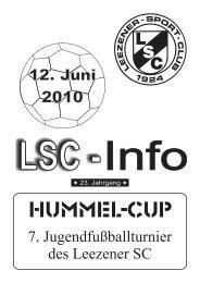 LSC-Info 2009-2010 Ausgabe 11 - Leezener SC
