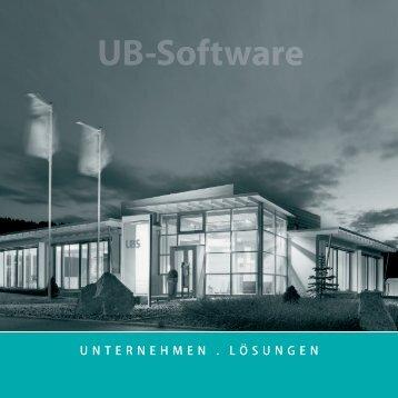 Imagebroschüre - UB-Software Entwicklungs