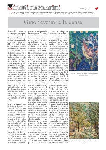 300 Gino Severini e la danza - Fondazione Internazionale Menarini