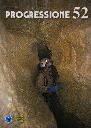 Progressione 52 rel 03 - Commissione Grotte Eugenio Boegan