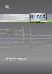 Fermenterheizung - Edelstahl Huber