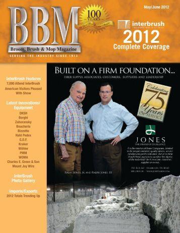 May/June Magazine 2012 - Broom, Brush and Mop