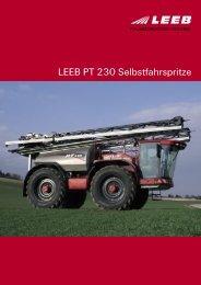 LEEB PT 230 Selbstfahrspritze