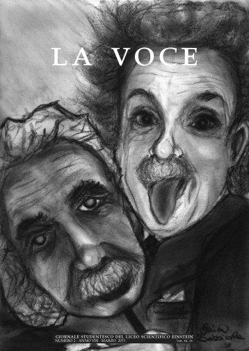 """La Voce (marzo 2011) - Liceo Scientifico Statale """"Albert Einstein ..."""
