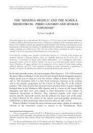 'minerva medica' and the schola medicorum - Research.ed.ac.uk ...