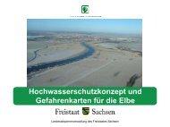 Hochwasserschutzkonzept und Gefahrenkarten für die Elbe