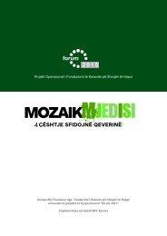 Projekt Operacional i Fondacionit të Kosovës pë Shoqëri të ... - KFOS