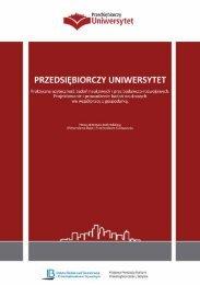 Pobierz Podręcznik - Przedsiębiorczy Uniwersytet - Instytut Badań ...