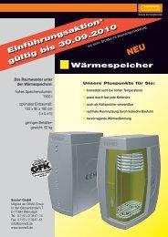 Wärmespeicher (PDF 1,8 BM) - Sonne3 GmbH
