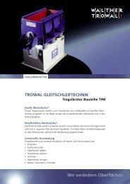 TFM Trogvibratoren - Walther Trowal