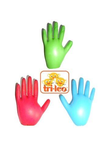 Farbige Einmalhandschuhe für Kinder
