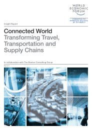 Connected World Transforming Travel, Transportation and Supply Chains