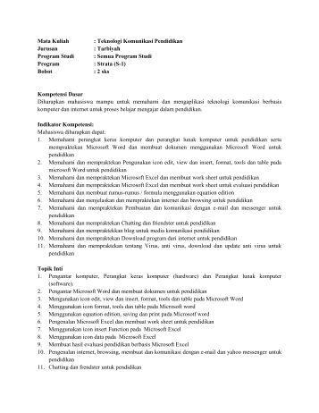 Proposal Skripsi Fakultas Tarbiyah Jurusan Pendidikan Agama Islam