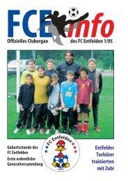 FCE-Info / Ausgabe-Nummer 1/2005 - FC Entfelden