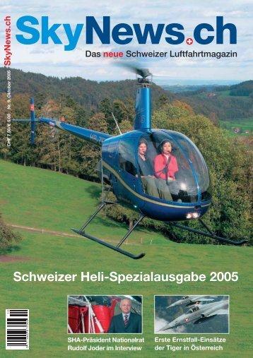 Schweizer Heli-Spezialausgabe 2005 - SkyNews.ch