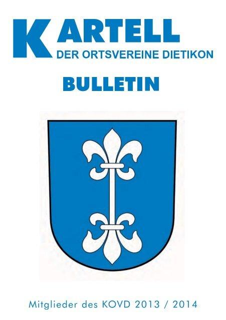Hier können Sie das aktuelle Bulletin direkt als PDF anschauen
