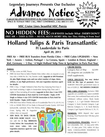 04 20 2013 Poesia Tulips & Pari - Legendary Journeys