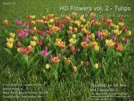 HD Flowers vol. 2 - Tulips - HQ plants