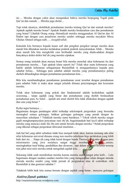 Hijrah Bagian (1) - Blog Abu Umamah