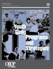 Youth Gang Programs and Strategies - Fort Worth ISD