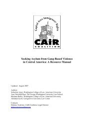 Seeking Asylum from Gang-Based Violence in Central America: A ...