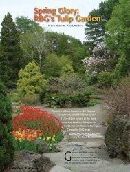 RBG's Tulip Garden - Niagara Escarpment Views