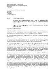 Ihrer Exzellenz Frau Dr. Ursula Plassnik Bundesministerin ... - Mawev