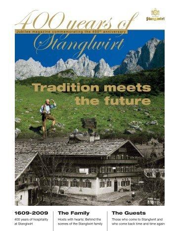 Download Jubilee Magazin (PDF) - Bio- und Wellnesshotel Stanglwirt