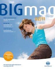 BIGmag 02/11 ( PDF , 531 kB, nicht barrierefrei) - BIG Gesundheit