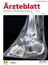 Ärzteblatt Baden-Württemberg 04-2013 [PDF] - Landesärztekammer ...
