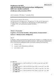 Ordinanza del DFI sulle prestazioni dell'assicurazione ... - admin.ch