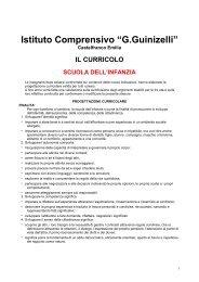 riepilogo programmi.pdf - Istituto Comprensivo Statale