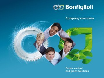 Bonfiglioli annual report 2012 - OPIS Engineering ks