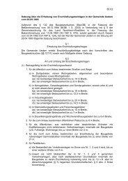 60.02 Satzung über die Erhebung von Erschließungsbeiträgen in ...