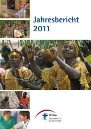 Jahresbericht 2011 - Tropenklinik Paul-Lechler-Krankenhaus