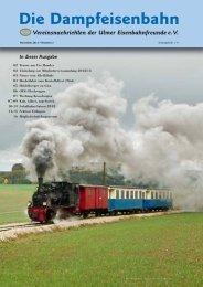 Ausgabe 2/2012 - Die Ulmer Eisenbahnfreunde