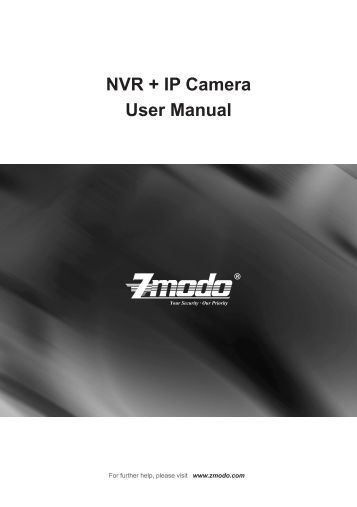 NVR + IP Camera User Manual