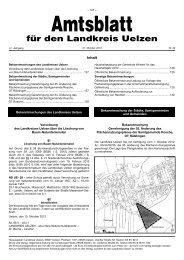 Amtsblatt 2012 - Nr.20 - Stadt Uelzen