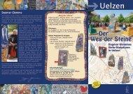 Weg der Steine. Prospekt (pdf 1,98 MB - Stadt Uelzen