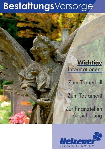 BestattungsVorsorge - Uelzener Versicherungen